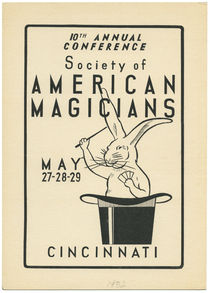 Society of American Magicians Window Cards