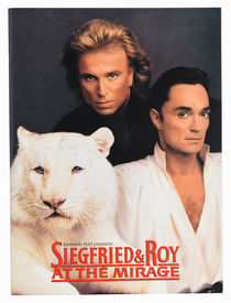 Siegfried & Roy at the Mirage Program