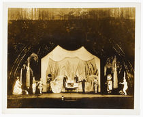 Harry Blackstone Doll House Photograph