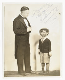 Fred Robison Walking Ventriloquist Figure Photograph