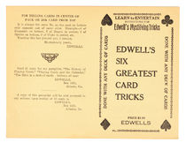 Edwell's Six Greatest Card Tricks