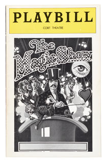 The Magic Show Playbill