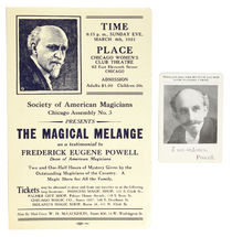 The Magical Melange Advertisement
