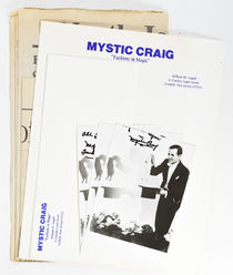Collection of Mystic Craig Photographs, Letterhead and Paper Clipping
