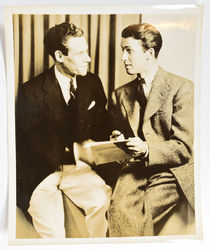 Bill Neff and James Stewart Photograph