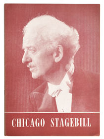 Chicago Stagebill: Harry Blackstone