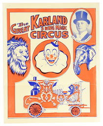 Karland 3 Ring Magic Circus Program and Coupon