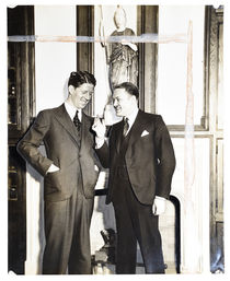 Rudy Vallee and Little Johnny Jones