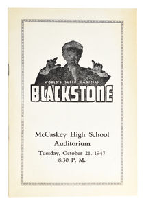 Blackstone: McCaskey High School Auditorium