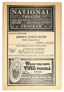 Thurston National Theatre Program
