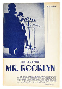 The Amazing Mr. Rooklyn Souvenir Booklet