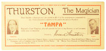 Thurston and Tampa Blotter
