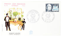 Robert-Houdin First Day Cover Envelope