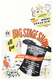 Big Stage Show Advertisement