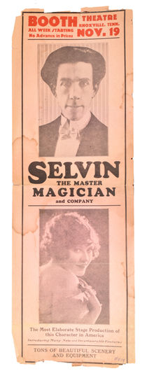 Selvin the Master Magician and Company