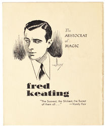 Fred Keating Advertisement