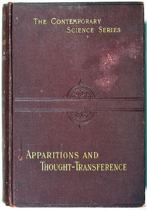 Apparitions and Thought Transference