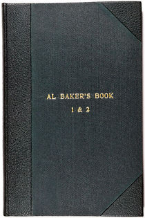 Al Baker's Book 1 and 2