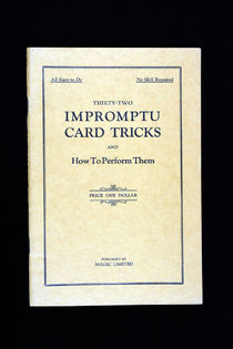 Thirty-Two Impromptu Card Tricks