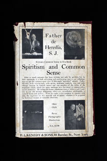 Spiritism and Common Sense