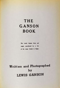 The Ganson Book