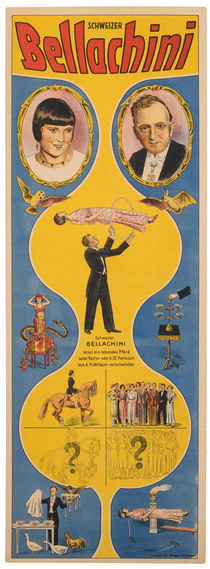 Schweizer Bellachini [Blue and yellow] Poster
