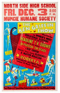 The Ken Griffin Show Window Card