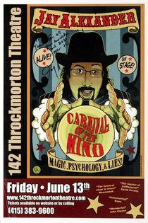 Jay Alexander: Carnival of the Mind Window Card, Signed