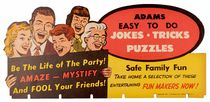 Easy-to-Do Jokes, Tricks, and Puzzles Display Topper