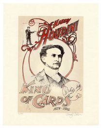 Two Houdini Commemorative Prints