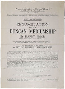 Regurgitation and the Duncan Mediumship Prospectus