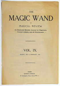 The Magic Wand and Magical Review Vol. IX.