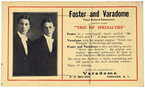 Foster and Varadome Postcard