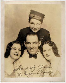 The Gwynne Family Signed Portrait