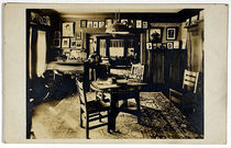 Harry Kellar's Home Photograph Postcard