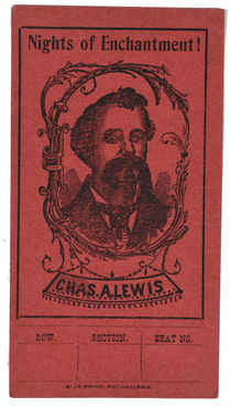 Chas. A. Lewis Ticket