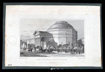 The Coliseum, Regent's Park Engraving