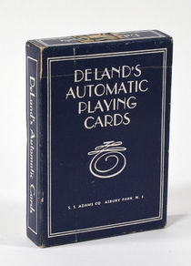 Deland's Automatic Playing Cards