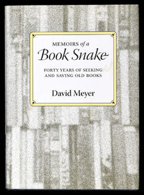 Memoirs of a Book Snake, Signed