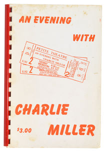 An Evening with Charlie Miller, Part One - Early Evening