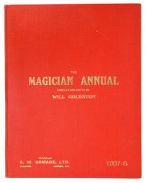 The Magician Annual 1907-1908