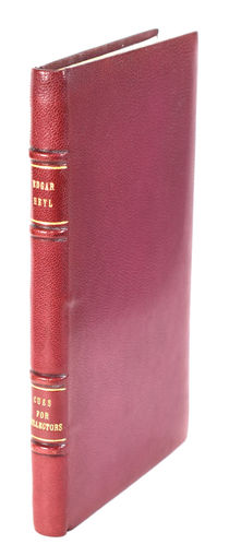 Cues for Collectors in a Fine Binding