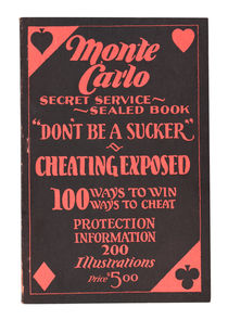 Monte Carlo: Secret Service Sealed Book