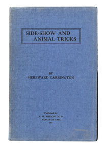 Side-Show and Animal Tricks