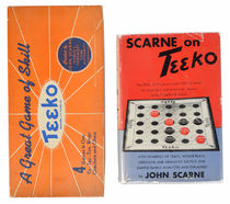 Scarne on Teeko and Original Teeko Board Game