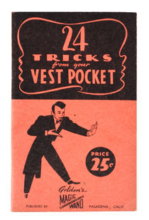 24 Tricks from Your Vest Pocket