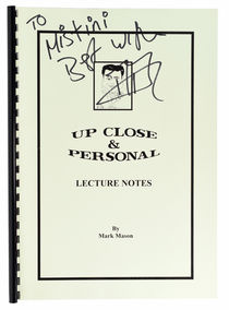 Up Close & Personal Lecture Notes