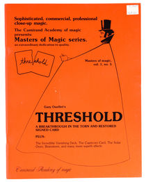 Threshold: Masters of Magic Vol. 1, No. 5