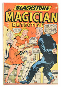 Blackstone The Magician Detective Comic