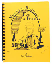 Working in Restaurants for Fun & Profit, Inscribed and Signed